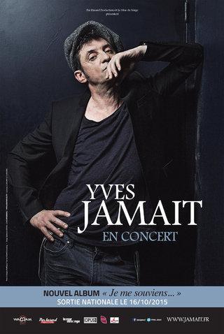 """Yves Jamait, nouvelle tournée """"Je me souviens"""" 2015/2016 - affiches"""