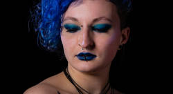 Blue make up - Dassonville Francois-photographe