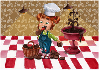 Biscuit chocolaté