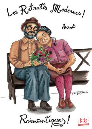 Les retraités modernes sont romantiques