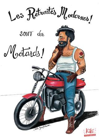 Les retraités modernes sont des motards