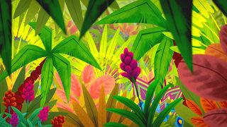 Jungle luxuriante