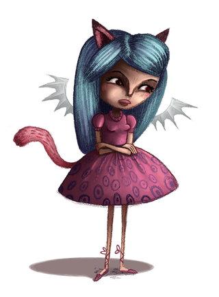 Petite fille déguisée
