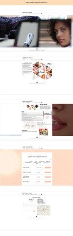 Webdesign de www.opale-expertbeaute.com