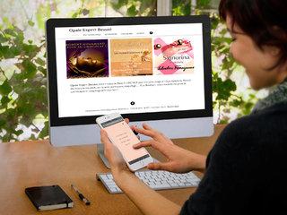 Création webdesign du site de Opale