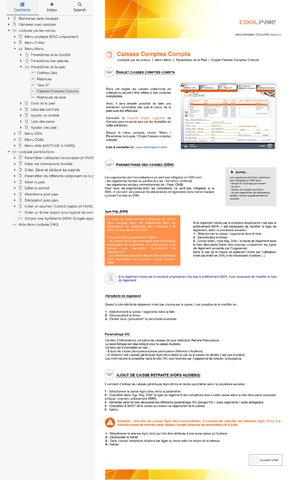 Refonte interface logiciel