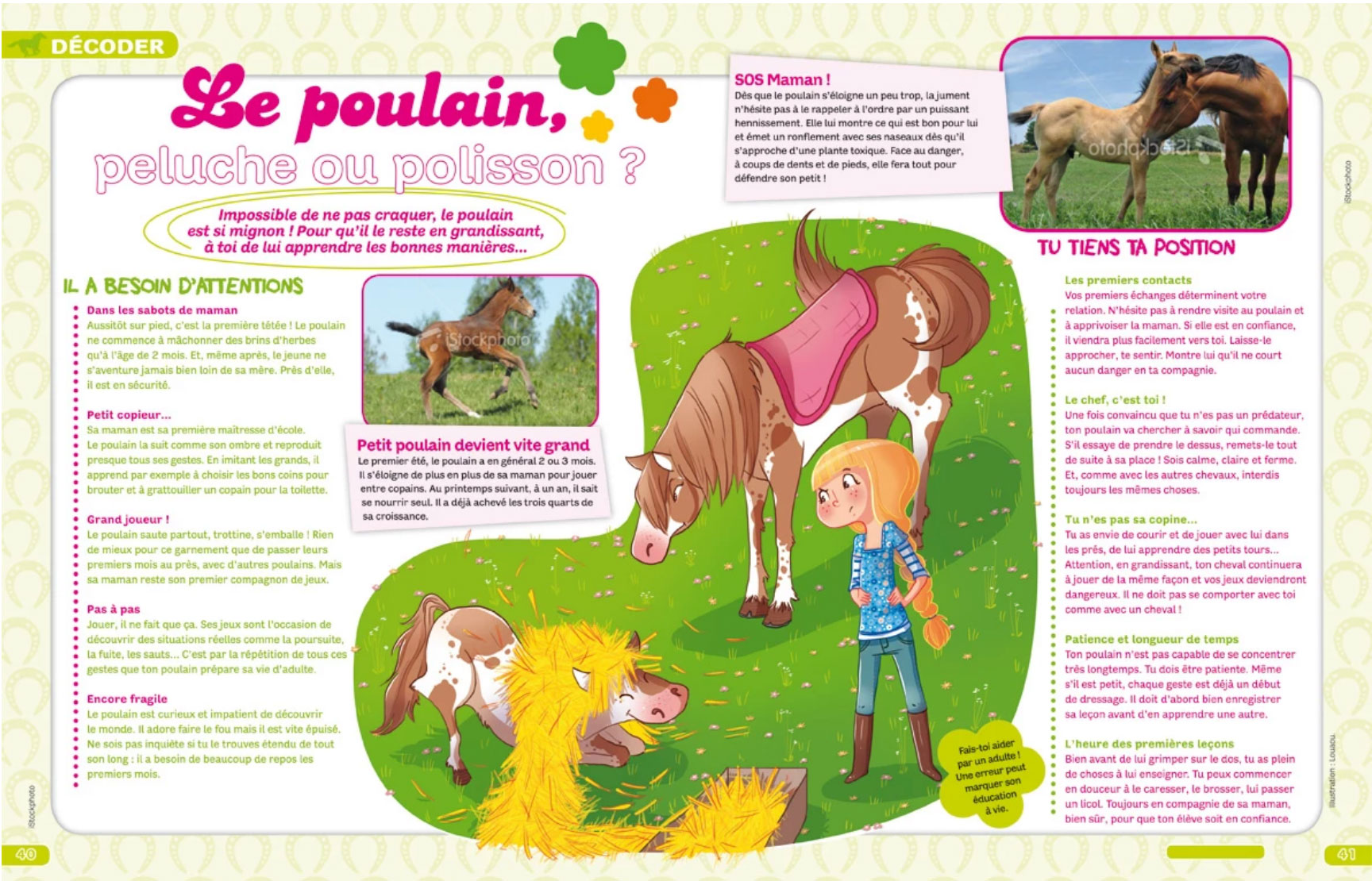 julie cheval Magazine