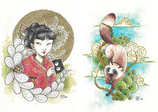 La Geisha et le Tanuki