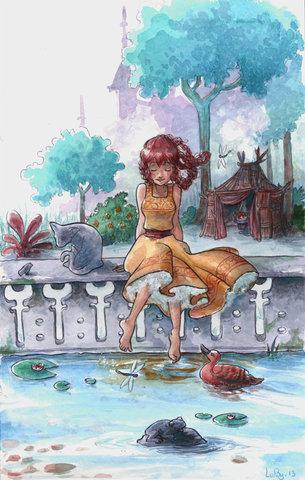 La Princesse et la Cane