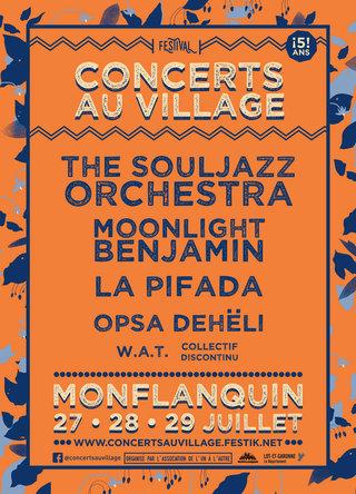 Concerts au village 2018