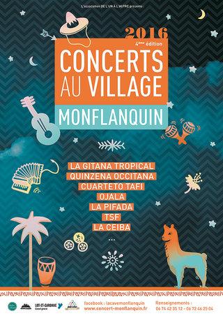 Concerts au village 2016
