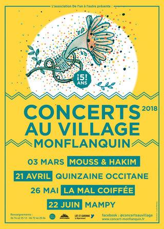 Concerts Monflanquin 2018