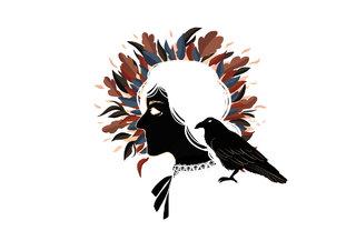 La sorcière et le corbeau
