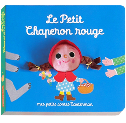 Casterman / puppet book / Le petit chaperon rouge / The red riding hood