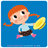 Fleurus / Petite fille / Small girl