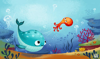 Histoires d'animaux de la mer à lire avec papa et maman © FLEURUS ‰ditions
