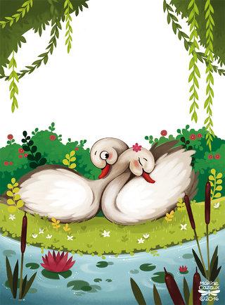 Le vilain petit canard © HEMMA Editions 2016