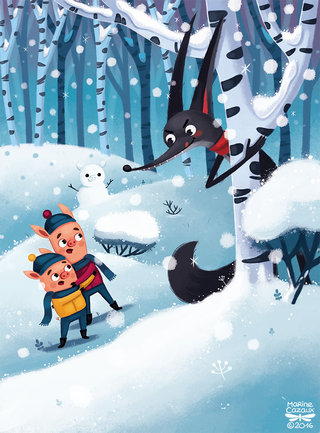 Les 3 petits cochons © HEMMA Editions