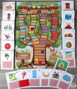 Jeu L'arbre des mots ( plateau et 240 cartes ) © Jocatop Editions