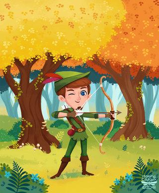Robin des bois © LITO Editions