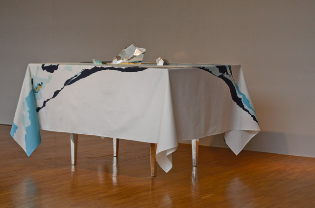 Reliefs de table, Marine Class, Condensation, le Forum, Tokyo