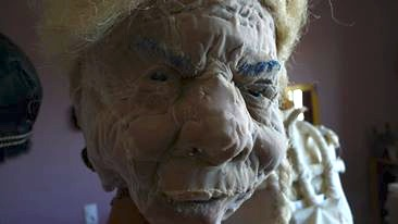 Nonna, tete/masque