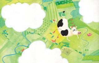 Double page d'un album aux éditions LITO (2012)