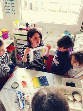 Interventions gravure en maternelle