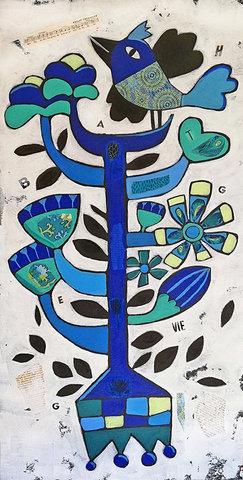Totem Bleu