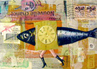 Mail art : time is running