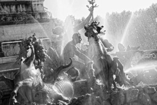 Fontaine aux quinconces