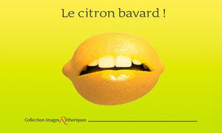 le citron bavard