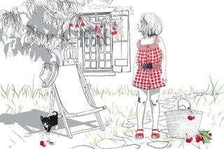 illustration pour le catalogue Tyrol en collaboration avec Nadia Bignon