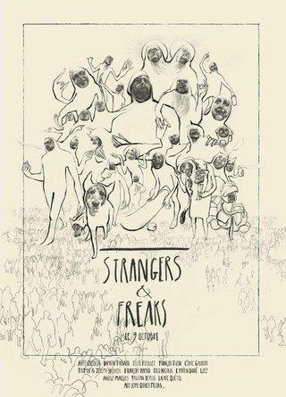 AFFICHE   STRANGERS & FREAKS
