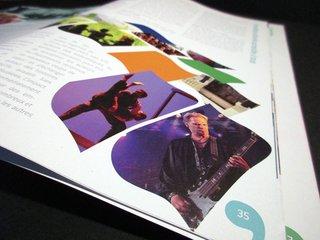 Détail sur brochure