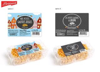 Packaging - gaufres