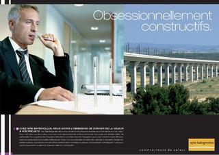 Spie batignoles - Annonce presse bâtiment - Photo : Gilles Defaix