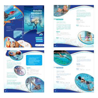 """Livret """"Activités aquatiques"""" pour le centre aquatique d'Alfortville"""