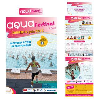 """Kit événementiel """"Aqua Festival à Paris"""""""
