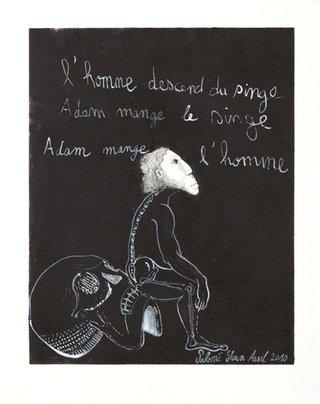 Adam, l'homme et le singe 2010