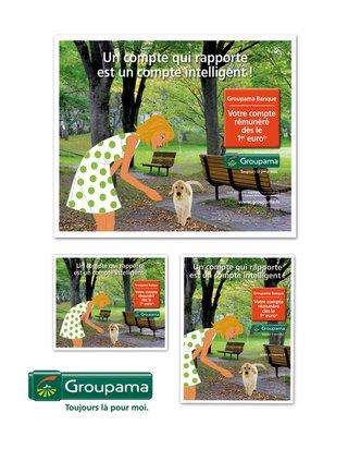 CONCEPTION GRAPHIQUE pour GROUPAMA R.A.