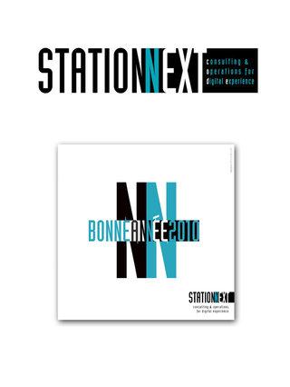 DESIGN GRAPHIQUE  pour STATION NEXT [Conseil en stratégie & Marketing - Paris]