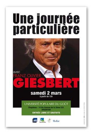 GRAPHISME pour Michel ONFRAY > Université Populaire du goût