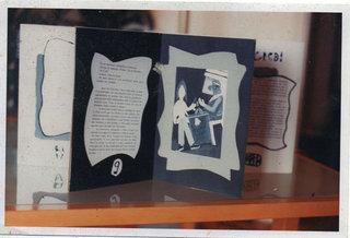 Intérieur du livre coffret-accordéon