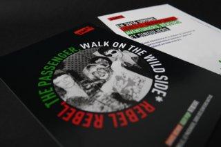 Carte de voeux 2016 : Rebel Rebel, The passenger, Walk on the wild side