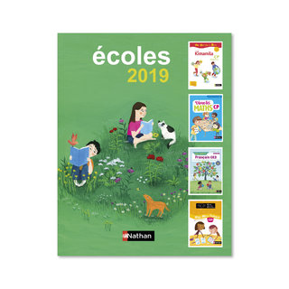 Couverture catalogue Primaire, Nathan Editions